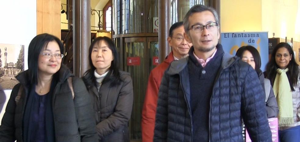 Universidades de India y Japón visitan León en busca de un destino de turismo idiomático