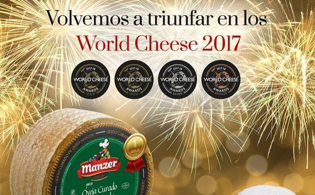 Quesos Manzer, premiado en los World Cheese Awards