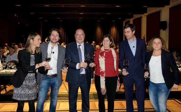 Cata de vinos de Carlos Moro organizada por El Norte de Castilla