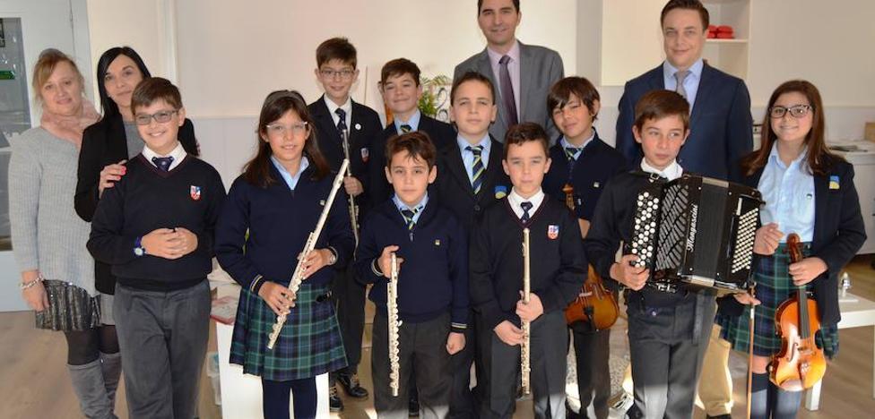 Peñacorada, con conciertos didácticos, celebra Santa Cecilia