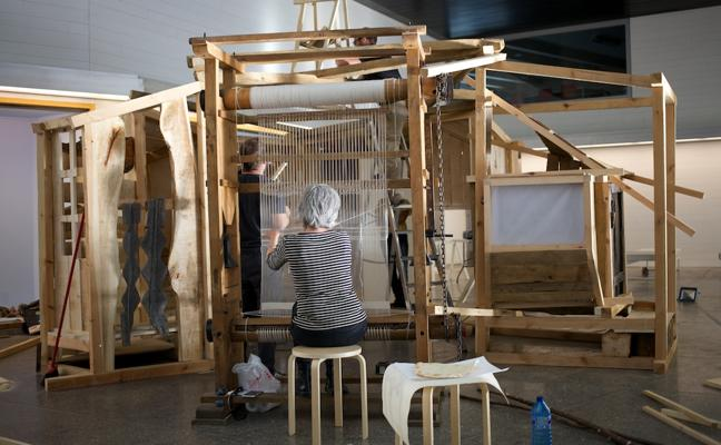 El Musac organiza el sábado un encuentro en torno a la exposición 'A partir de fragmentos dispersos'