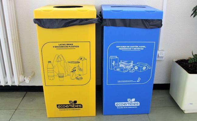 El área de sostenibilidad y calidad ambiental de la Ule impulsa una campaña de reciclado