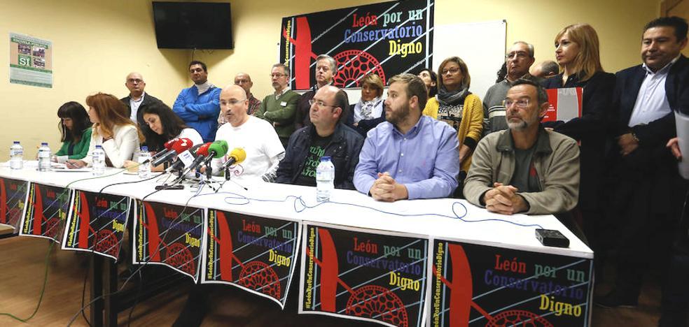 Frente político y social para exigir a la Junta rectificar el «fiasco» del proyecto del Conservatorio de León