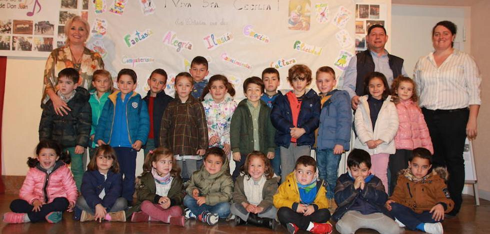 Valencia de Don Juan celebra Santa Cecilia con conciertos de la Escuela de Música Municipal, la Coral y el Coro Infantil