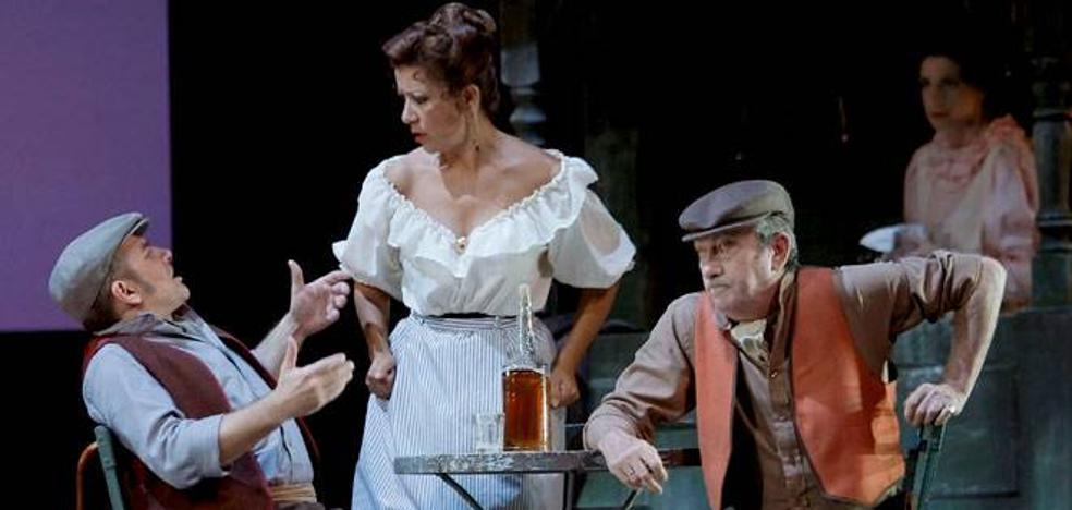 El clásico 'Agua, azucarillos y aguardiente' endulza una tarde de zarzuela en el Teatro Bergidum