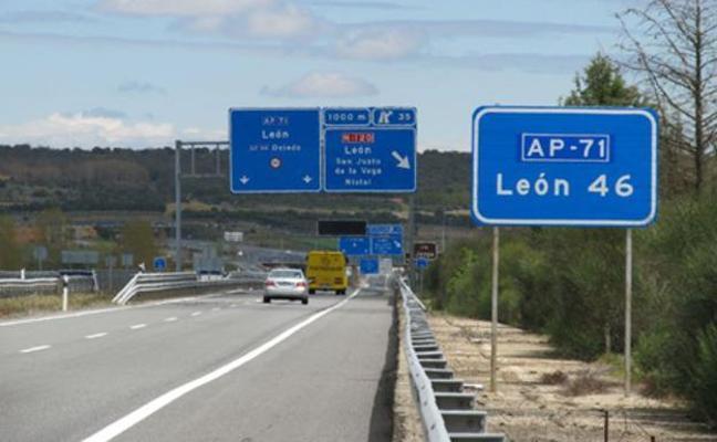 IzAb León critica el «parche chapucero» del Ministerio en la León-Astorga y exige eliminar el peaje