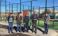 Alija de la Ribera estrena pista de pádel tras una inversión de 27.000 euros