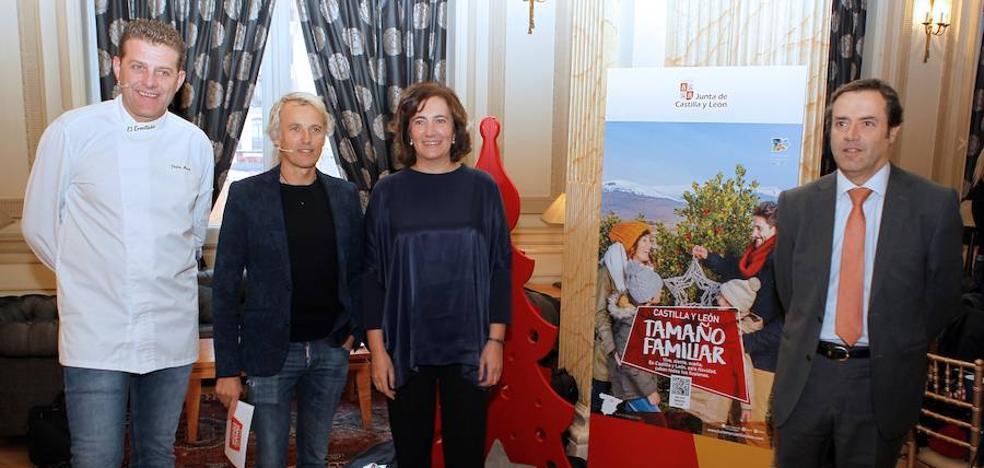 Jesús Calleja será la imagen de Castilla y León en su promoción turística de Navidad