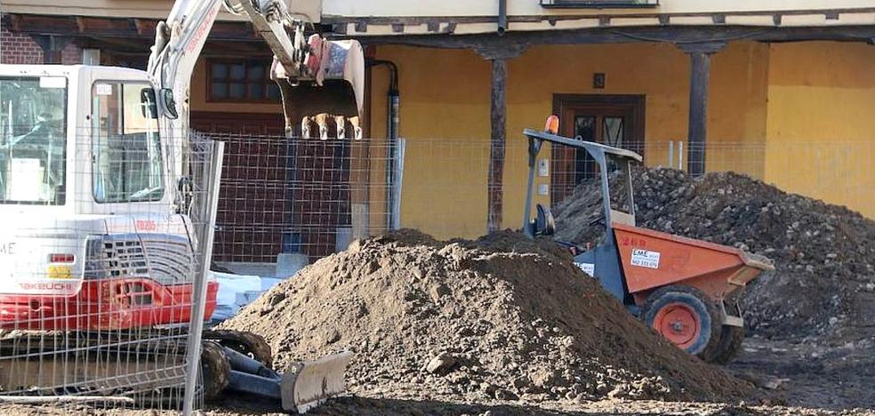 León en Común pide al Ministerio de Cultura la paralización cautelar de las obras en la Plaza del Grano