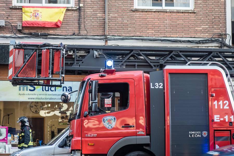 Falsa alarma en la Calle Lancia