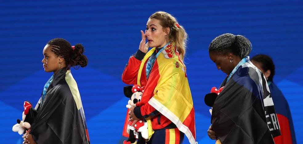 Lydia Valentín y el lío con el himno de España en Anaheim