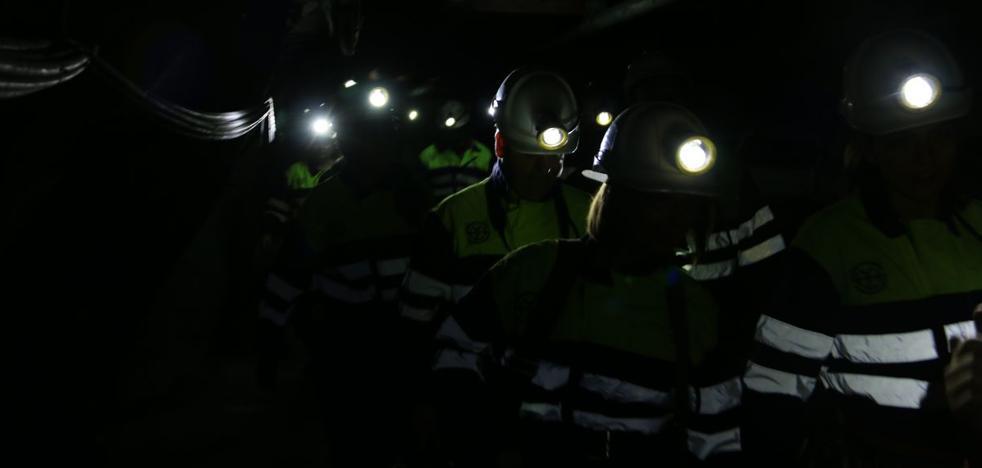 El carbón reivindica su importancia en el mix energético en el día de Santa Bárbara que 'celebran' 430 mineros en activo en la provincia