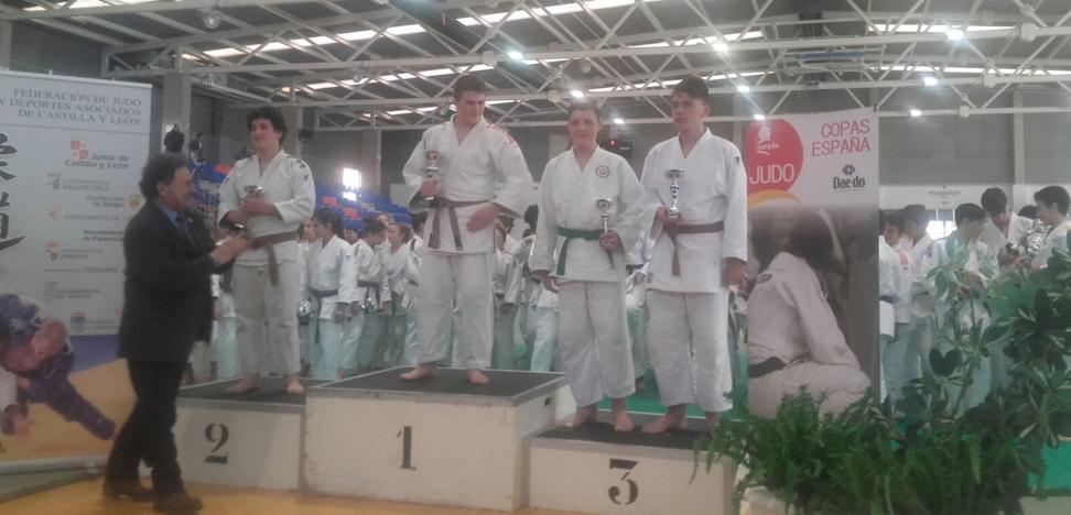 Un bronce leonés en la Copa de España de Valladolid de judo