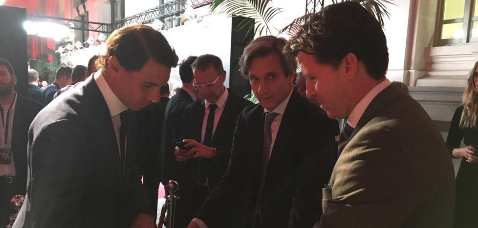 Las firmas del Rey Felipe VI y Rafa Nadal llegan al Museo del Deporte