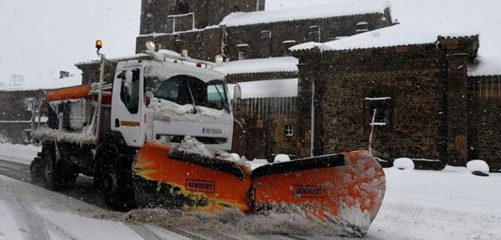 La Diputación cuenta con 50 vehículos para resolver las contigencias de vialidad invernal