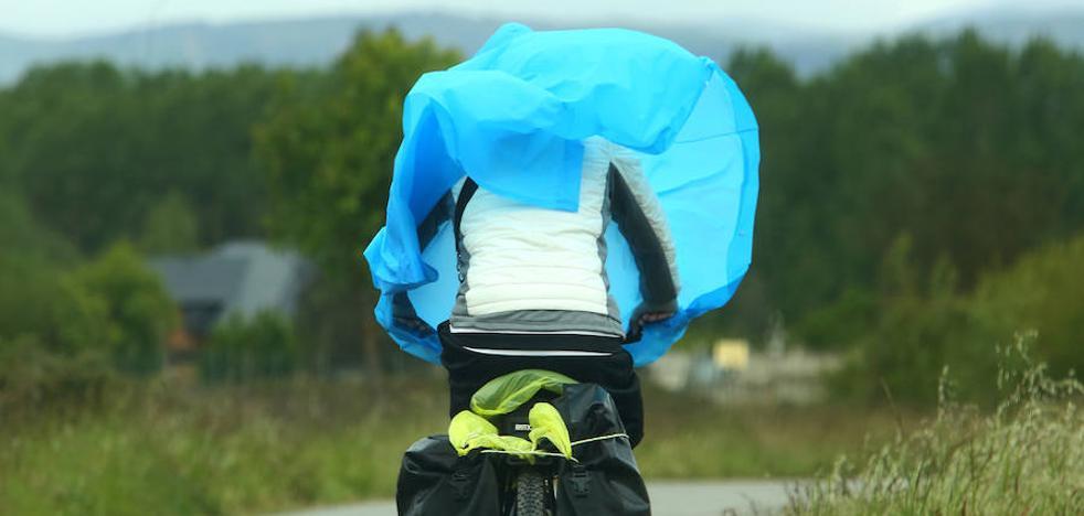 Una borrasca dejará este domingo vientos de hasta 110 kilómetros por hora en León