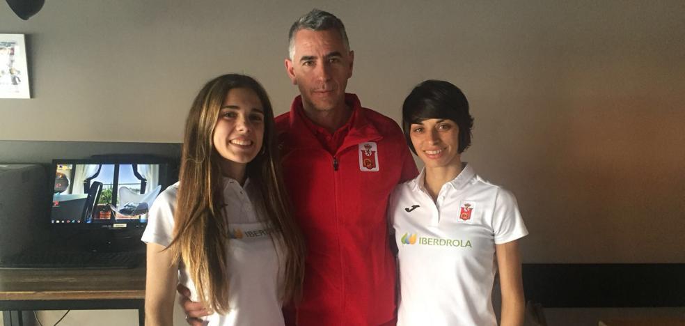 Lugueros y García, rumbo a Samorin