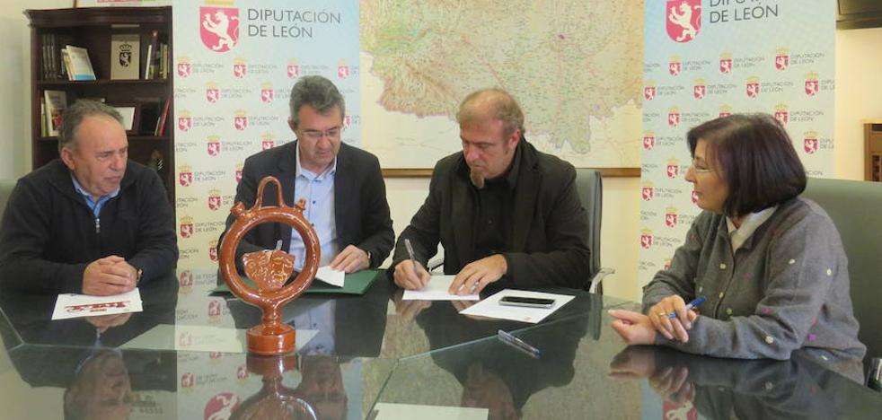 La Diputación destina 15.000 euros para poner en valor la tradición alfarera de Santa Elena de Jamúz