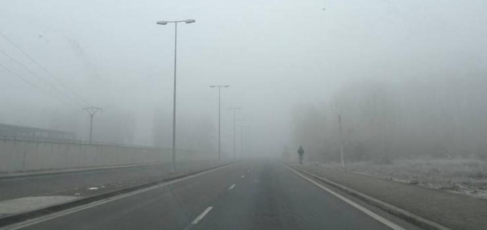 La provincia de León amanece envuelta en niebla