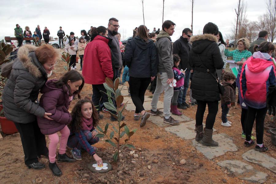El jardín de los niños de Estébanez de la Calzada