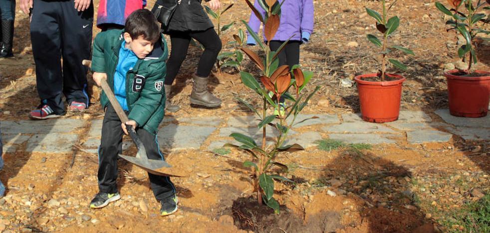 El 'Jardín de los niños' de Estébanez de la Calzada