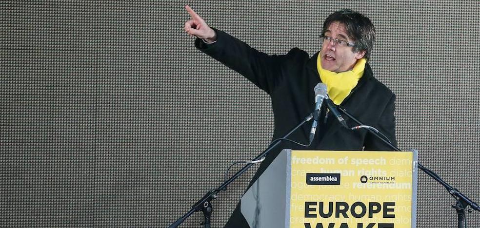 Puigdemont niega la tercera vía y asegura: «El Estado no quiere ser reformado»
