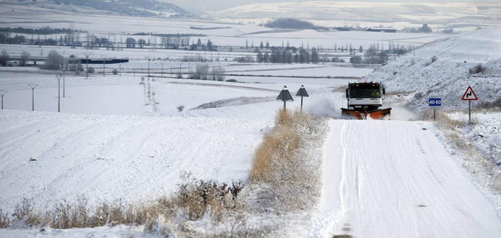 Activada la fase de alerta por nevadas en ocho provincias de Castilla y León