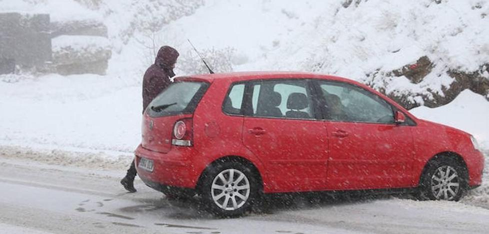 'Ana' dejará fuertes nevadas en León con un manto de hasta 20 centímetros