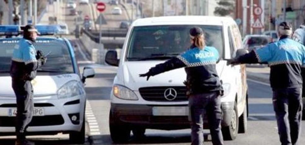 La Policía Local controlará esta semana en León el consumo de alcohol y drogas en la conducción