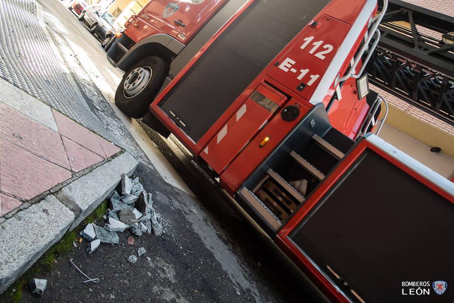 Intervenciones de los bomberos