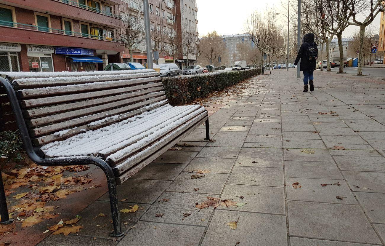 La nieve se asoma a la capital