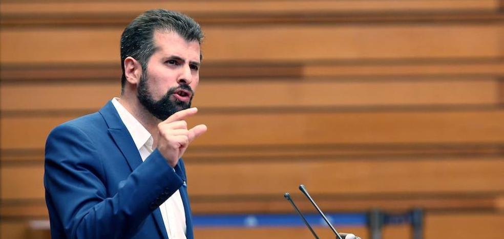 Tudanca asegura que faltan 355 millones para que la financiación de los ayuntamientos de Castilla y León alcance la media nacional