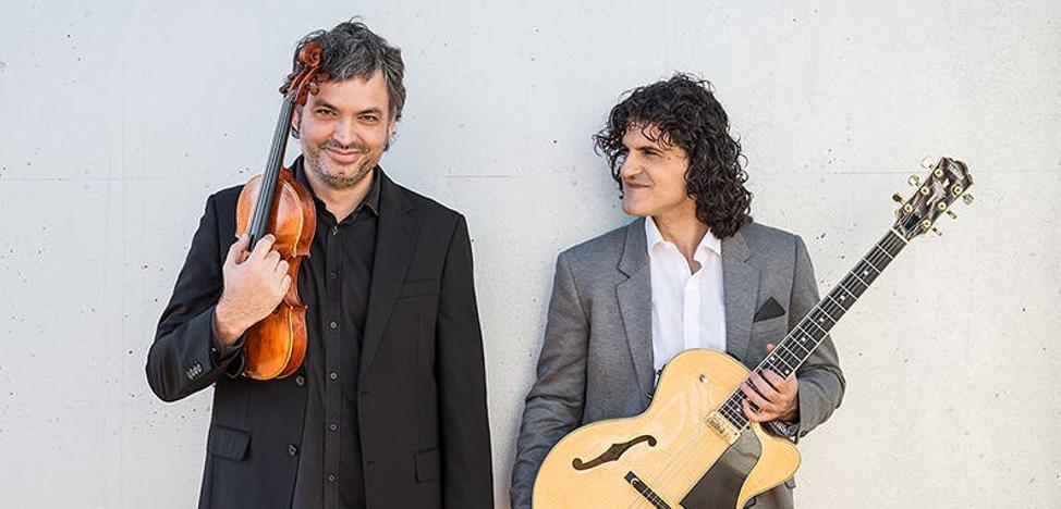 Sesión de jazz con Albert Bello y Oriol Saña en el Albéitar
