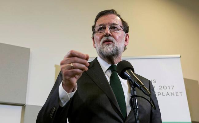 Rajoy advierte a Europa que España necesita al carbón, «que no se puede suprimir de un día para otro»
