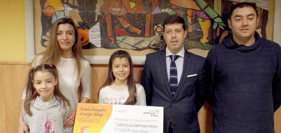 Gas Natural premia a dos proyectos leoneses en su concurso de dibujo infantil sobre buenas prácticas de consumo de gas en el hogar
