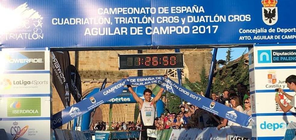 El triatlón de Castilla y León reconocerá a Kevin Tarek Viñuela