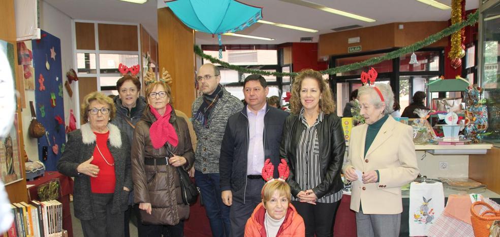 Abre sus puertas el rastrillo solidario de alzheimer Alcordanza