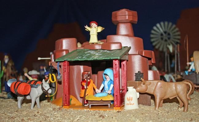 Navidad de Playmobil en Gordoncillo