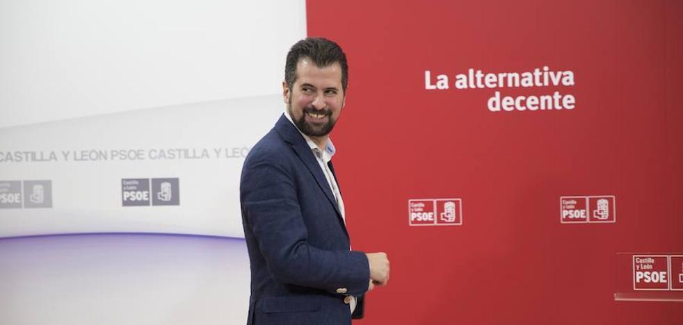 Tudanca pide a Del Olmo que luche para conseguir «la mejor financiación para Castilla y León»
