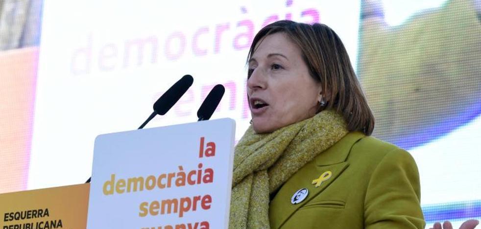 Forcadell amenaza al Estado: «No frenará la república»