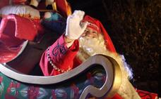 Papá Noel descenderá este domingo por la fachada de El Corte Inglés con una fiesta infantil