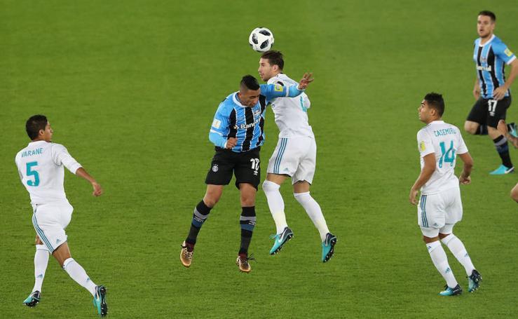 Las mejores imágenes del Real Madrid-Gremio