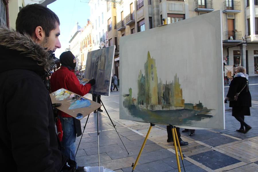 Concurso de pintura rápida en León