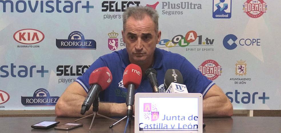 Rafa Guijosa: «Nos hubiera gustado un partido más igualado»