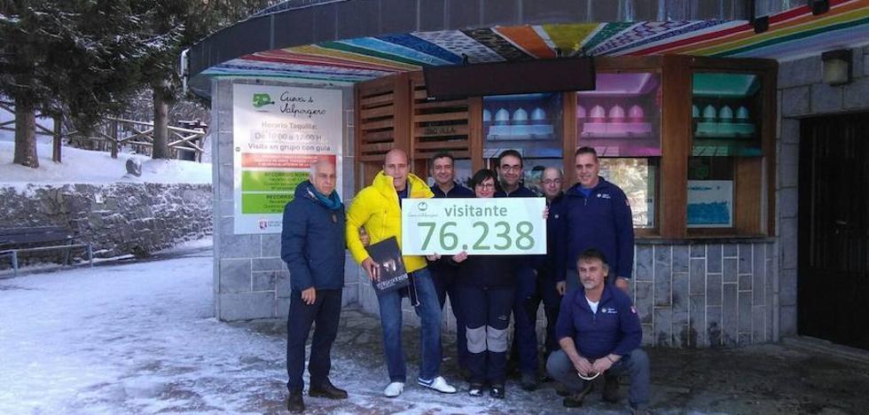 La Cueva de Valporquero consigue, por segundo año consecutivo, récord de visitantes con 76.238