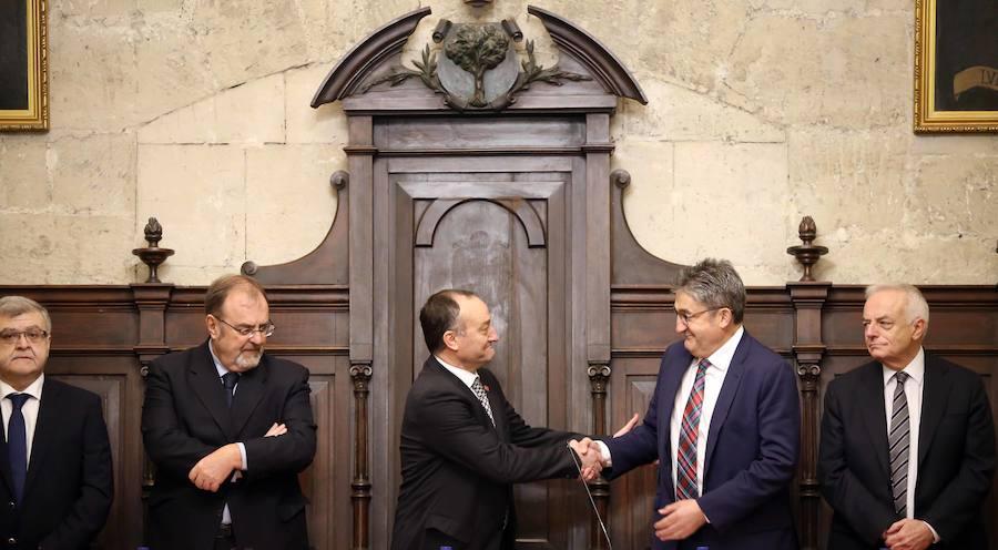 Óscar Campillo toma posesión como presidente del Consejo Social de la Universidad de Valladolid
