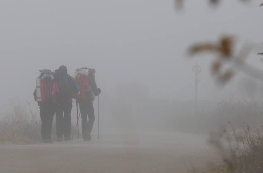 La niebla invade El Bierzo