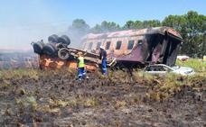 18 muertos y 254 heridos en el choque de un tren con un camión en Sudáfrica