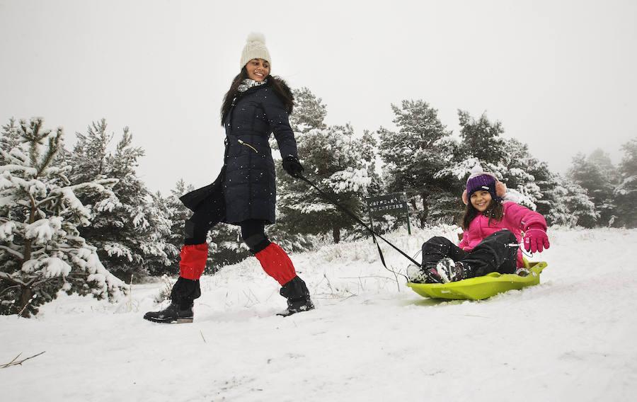Nieve en Castilla y León