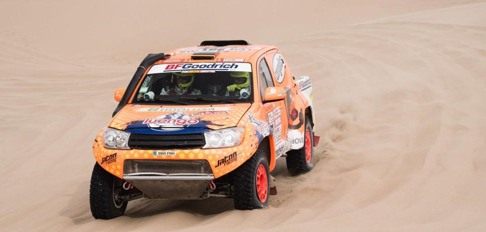 Calleja remonta 15 posiciones en la segunda etapa del Dakar
